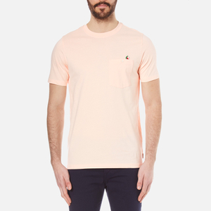 PS by Paul Smith Men's Crew Neck Pocket T-Shirt - Pink