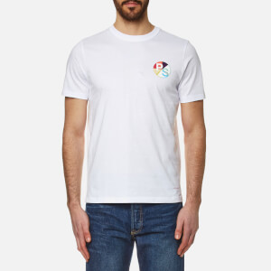 PS by Paul Smith Men's Chest Logo Crew Neck T-Shirt - White