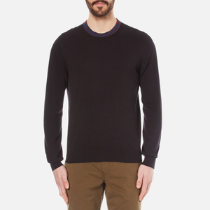 PS by Paul Smith Men's Crew Neck Knitted Jumper - Black
