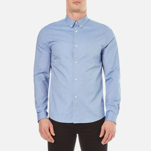 A.P.C. Men's Chemise Button Down Shirt - Bleu