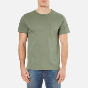A.P.C. Men's Stitch Pocket T-Shirt - Vert Grise