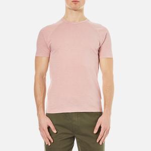 YMC Men's Television Raglan T-Shirt - Pink