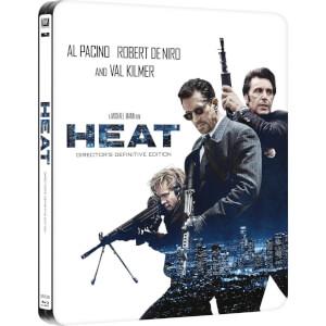 Heat (2-Disc Director's Definitive Edition) - Zavvi UK Exclusive Limited Edition Steelbook