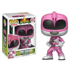 Figura Pop! Vinyl Ranger Rosa - Power Rangers