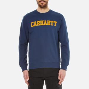 Carhartt Men's College Sweatshirt - Blue/Yellow