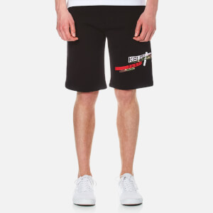KENZO Men's Logo Sweat Shorts - Black