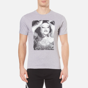 KENZO Men's Photo Print T-Shirt - Pearl Grey