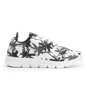 Superdry Women's Scuba Runner Trainers - Electric Palm Mono