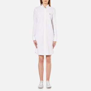 Polo Ralph Lauren Women's Oxford Shirt Dress - White