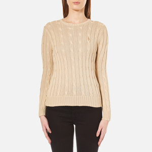 Polo Ralph Lauren Women's Julianna Jumper - Natural