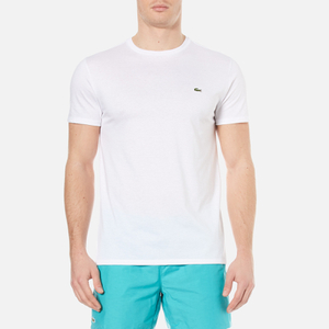 Lacoste Men's Basic Crew Neck T-Shirt - White