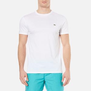 Lacoste Men's Basic Crew Neck T-Shirt - White