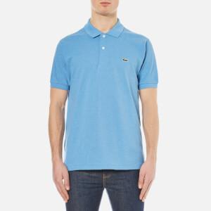 Lacoste Men's Short Sleeve Pique Polo Shirt - Horizon Blue Chine