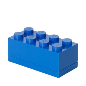 LEGO mini-opslagsteen met acht noppen - Blauw