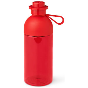 LEGO Hydration Bottle 0.5L - Transparent Bright Red