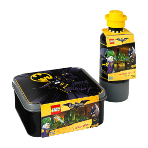 Set de Almuerzo LEGO Batman (Cantimplora + Tupper Lunch Box)