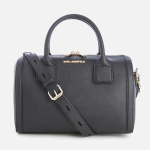 Karl Lagerfeld Women's K/Klassik Bowling Bag - Black