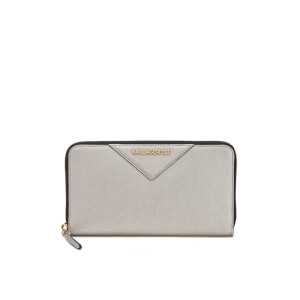 Karl Lagerfeld Women's K/Klassik Zip Around Wallet - Champagne