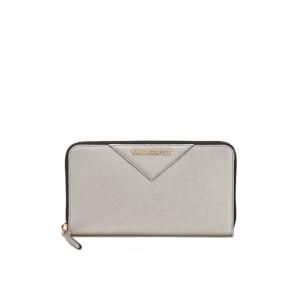 Karl Lagerfeld Women's K/Klassik Zip Around Wallet - Champagne