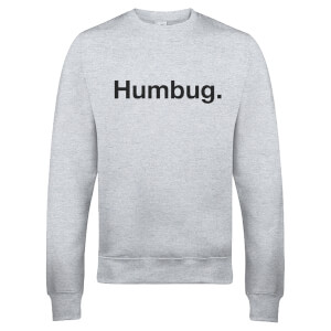 Humbug Christmas Sweatshirt - Grey