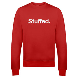 Sweatshirt de Noël Homme Stuffed -Rouge
