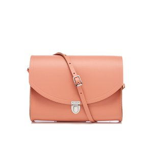 The Cambridge Satchel Company Women's Push Lock Shoulder Bag - Terracotta