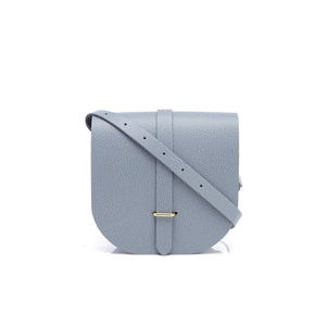 The Cambridge Satchel Company Women's Saddle Bag - French Grey Grain