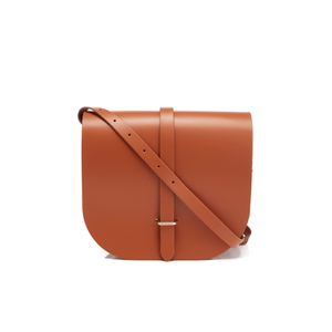 The Cambridge Satchel Company Women's Large Saddle Bag - Amber