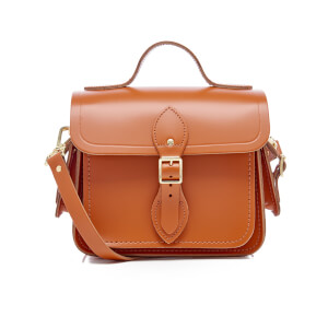 The Cambridge Satchel Company Women's Traveller Bag with Side Pockets - Amber