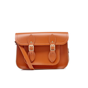 "The Cambridge Satchel Company Women's 11"" Satchel with Magnetic Closure - Amber"
