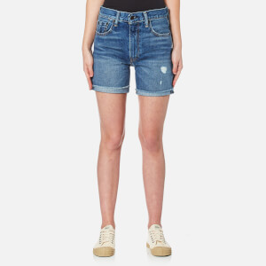 Levi's Women's 505 C Shorts - All Blue Everything