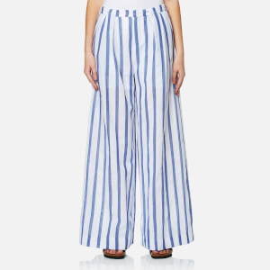 Paisie Women's Stripe Palazzo Trousers - Multi