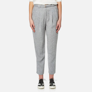 Paisie Women's Peg Leg Trousers - Grey