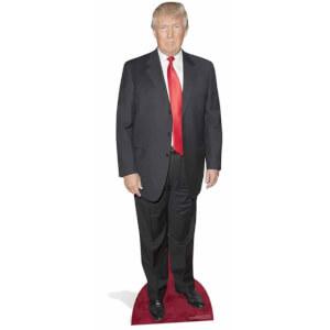 Silhouette en Carton Donald Trump sur le Tapis Rouge