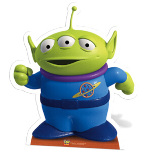 Toy Story Aliens Star Mini Cut Out