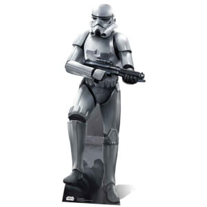 Star Wars Stormtrooper in Battle Pose Life Size Cut Out from I Want One Of Those
