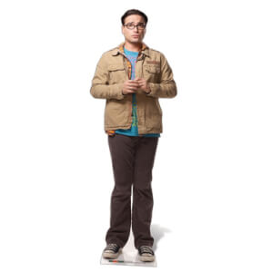 The Big Bang Theory Dr. Leonard Hofstadter Life Size Cut Out