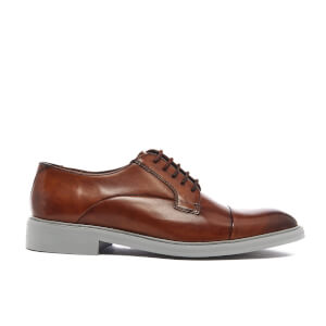 Ted Baker Men's Aokii 2 Leather Toe Cap Derby Shoes - Tan Burnished