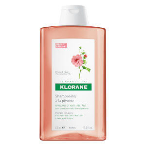KLORANE Soothing Shampoo with Peony Extract 13.5oz