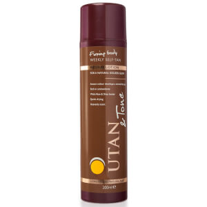 UTAN & Tone Weekly Self-Tan Lotion Medium 200ml