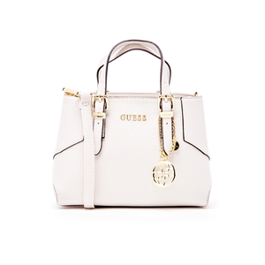 Guess Women's Isabeau Mini Box Satchel - White