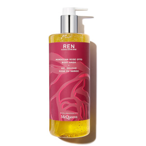 REN Moroccan Rose Otto Body Wash Deluxe Shower Size
