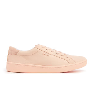 Keds Women's Ace Mono Leather Cupsole Trainers - Pale Peach