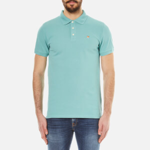 Maison Kitsuné Men's Fox Head Polo Shirt - Mint