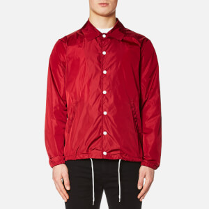Maison Kitsuné Men's Plain Bertil Windbreaker Jacket - Red