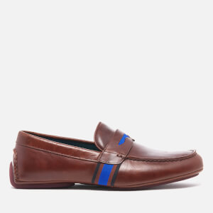 PS by Paul Smith Men's Ride Leather Driving Shoes - Scotch Brando