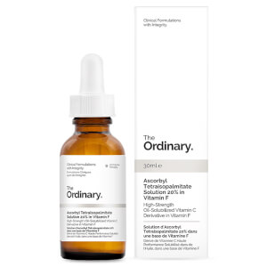 Solution d'Ascorbyl Tetraisopalmitate 20 % dans une base de Vitamine F The Ordinary 30 ml