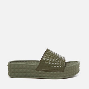 Ash Women's Scream Flatform Slide Sandals - Army