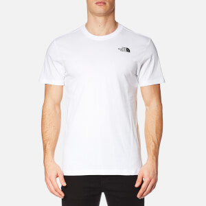 The North Face Men's Short Sleeve Red Box T-Shirt - TNF White