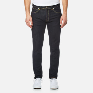 Edwin Men's ED-85 Slim Tapered Drop Crotch Red Listed Selvedge Denim Jeans - Rinsed